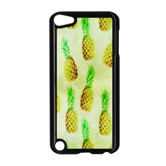 Pineapple Wallpaper Vintage Apple Ipod Touch 5 Case (black)