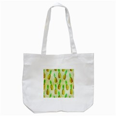 Pineapple Wallpaper Vintage Tote Bag (white)