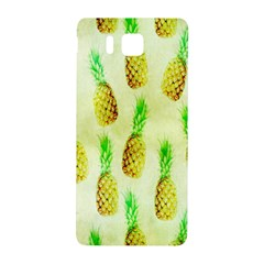 Pineapple Wallpaper Vintage Samsung Galaxy Alpha Hardshell Back Case by Nexatart