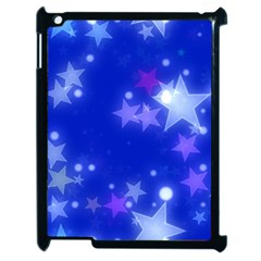 Star Bokeh Background Scrapbook Apple Ipad 2 Case (black)