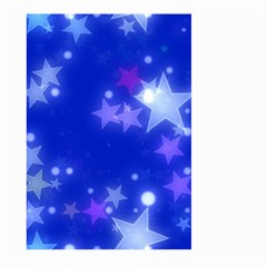 Star Bokeh Background Scrapbook Large Garden Flag (two Sides)