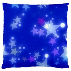 Star Bokeh Background Scrapbook Standard Flano Cushion Case (one Side) by Nexatart