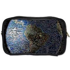 World Mosaic Toiletries Bags 2 Side by Nexatart