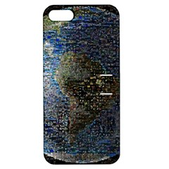 World Mosaic Apple Iphone 5 Hardshell Case With Stand by Nexatart