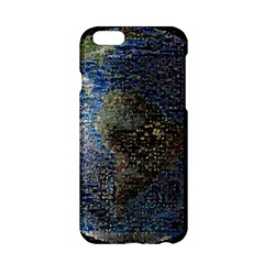 World Mosaic Apple Iphone 6/6s Hardshell Case
