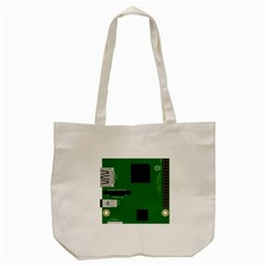 Raspberry Pi 3 Vector Tote Bag (cream)