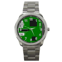 Raspberry Pi 3 Vector Sport Metal Watch