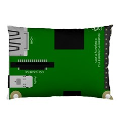 Raspberry Pi 3 Vector Pillow Case (two Sides)