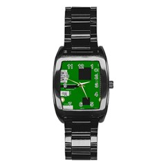 Raspberry Pi 3 Vector Stainless Steel Barrel Watch
