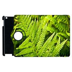 Fern Nature Green Plant Apple Ipad 2 Flip 360 Case