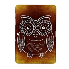 Owl Abstract Funny Pattern Samsung Galaxy Tab 2 (10 1 ) P5100 Hardshell Case