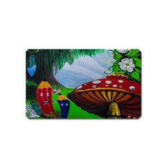 Kindergarten Painting Wall Colorful Magnet (name Card)