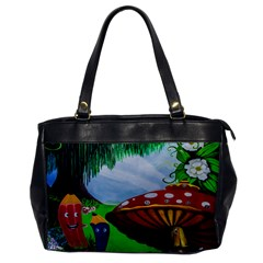 Kindergarten Painting Wall Colorful Office Handbags
