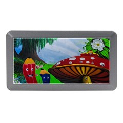 Kindergarten Painting Wall Colorful Memory Card Reader (mini) by Nexatart
