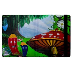 Kindergarten Painting Wall Colorful Apple Ipad 3/4 Flip Case