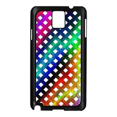 Pattern Template Shiny Samsung Galaxy Note 3 N9005 Case (black) by Nexatart