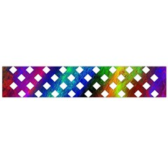 Pattern Template Shiny Flano Scarf (large)