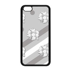 Stripes Pattern Background Design Apple Iphone 5c Seamless Case (black)