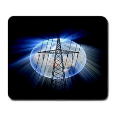 Energy Revolution Current Large Mousepads by Nexatart