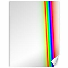 Rainbow Side Background Canvas 36  X 48