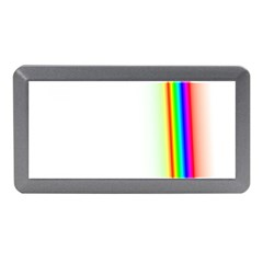 Rainbow Side Background Memory Card Reader (mini) by Nexatart