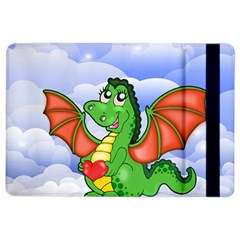 Dragon Heart Kids Love Cute Ipad Air 2 Flip by Nexatart