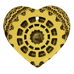 Gears Ornament (heart)
