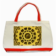 Gears Classic Tote Bag (red) by Nexatart