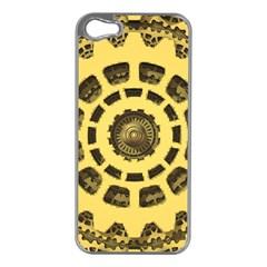 Gears Apple Iphone 5 Case (silver)
