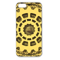 Gears Apple Seamless Iphone 5 Case (clear) by Nexatart