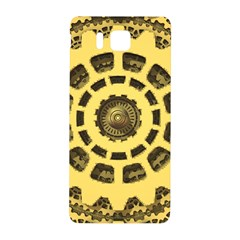 Gears Samsung Galaxy Alpha Hardshell Back Case by Nexatart