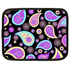 Paisley Pattern Background Colorful Netbook Case (xl)