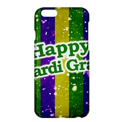 Happy Mardi Gras Poster Apple Iphone 6 Plus/6s Plus Hardshell Case by dflcprints