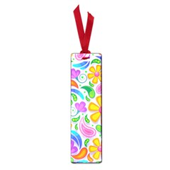Floral Paisley Background Flower Small Book Marks by Nexatart