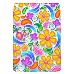 Floral Paisley Background Flower Flap Covers (l)