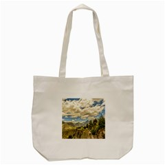 Valley And Andes Range Mountains Latacunga Ecuador Tote Bag (cream) by dflcprints