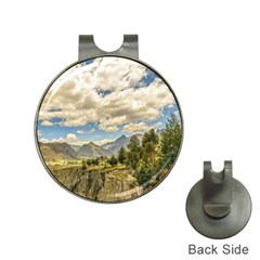 Valley And Andes Range Mountains Latacunga Ecuador Hat Clips With Golf Markers by dflcprints
