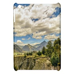 Valley And Andes Range Mountains Latacunga Ecuador Apple Ipad Mini Hardshell Case by dflcprints