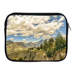 Valley And Andes Range Mountains Latacunga Ecuador Apple Ipad 2/3/4 Zipper Cases by dflcprints