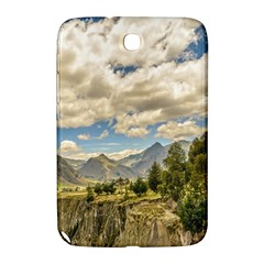Valley And Andes Range Mountains Latacunga Ecuador Samsung Galaxy Note 8 0 N5100 Hardshell Case  by dflcprints