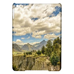 Valley And Andes Range Mountains Latacunga Ecuador Ipad Air Hardshell Cases by dflcprints