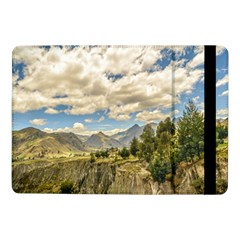 Valley And Andes Range Mountains Latacunga Ecuador Samsung Galaxy Tab Pro 10 1  Flip Case by dflcprints