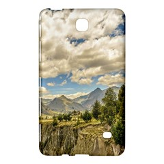 Valley And Andes Range Mountains Latacunga Ecuador Samsung Galaxy Tab 4 (7 ) Hardshell Case  by dflcprints