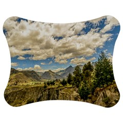 Valley And Andes Range Mountains Latacunga Ecuador Jigsaw Puzzle Photo Stand (bow) by dflcprints