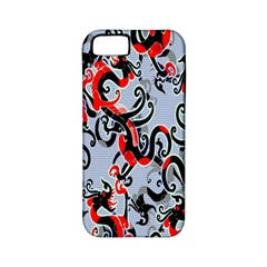 Dragon Pattern Apple Iphone 5 Classic Hardshell Case (pc+silicone)