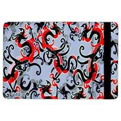 Dragon Pattern Ipad Air 2 Flip by Nexatart