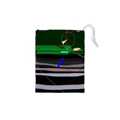 Abstraction Drawstring Pouches (xs)  by Valentinaart