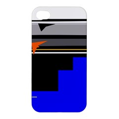 Abstraction Apple Iphone 4/4s Premium Hardshell Case by Valentinaart