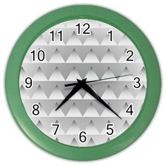 Pattern Retro Background Texture Color Wall Clocks