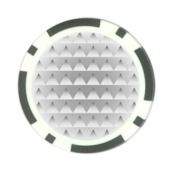 Pattern Retro Background Texture Poker Chip Card Guard (10 Pack) by Nexatart
